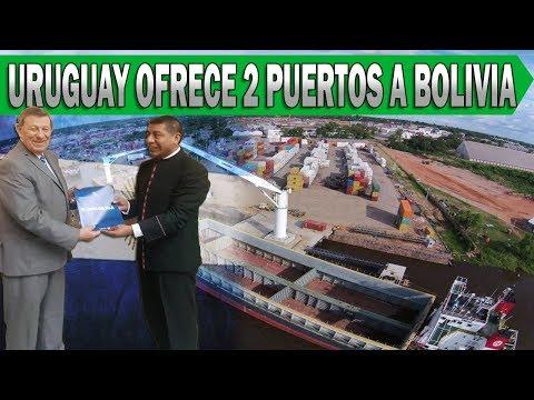 Uruguay Dice Tener 2 Puertos Listos Para Que Bolivia Exporte Por el Atlántico