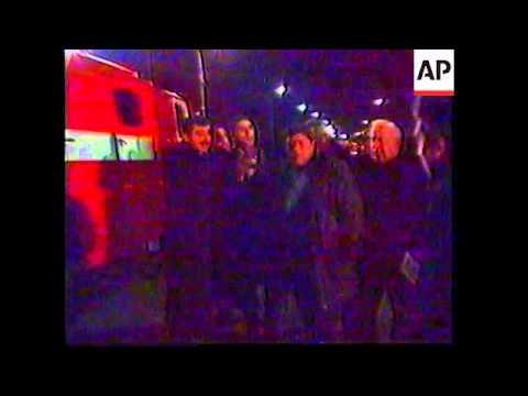 GEORGIA: GUNMEN OPEN FIRE ON PRESIDENT SHEVARDNADZE'S CAR UPDATE