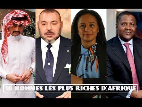 Les 9 Hommes Les Plus Riches d\'Afrique - DavidFaitDesTops