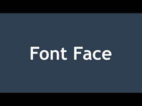 [ Css3 In Arabic ] #55 - Font Face