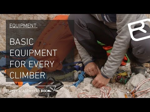 Basic Equipment For Every Alpine Climber: From Helmet To Climbing Shoes – Tutorial (4/43) | LAB ROCK