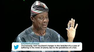 Journalists' Hangout Nov. 17th | Tinubu urges Buhari to address growing rate of poverty