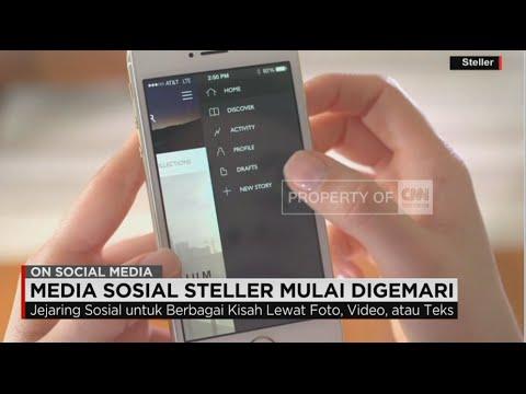 Steller, Trend Baru Media Sosial Mulai Digemari