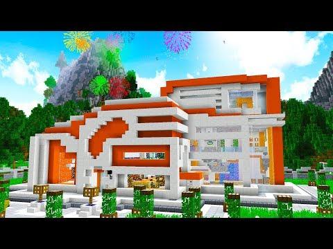 WORLD'S MOST FUTURISTIC MINECRAFT HOUSE..