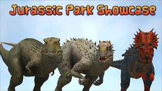 Ark Survival - JURASSIC PARK SHOWCASE + BATTLE AGAINST GIGA [Ep.329]