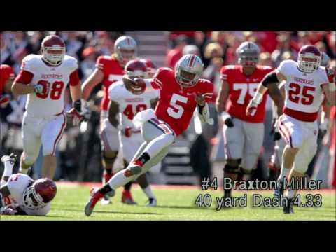 Top 7 Fastest Ohio State Buckeye 40 yard Dash Times