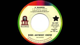 A Handful - Does Anybody Know (1967)