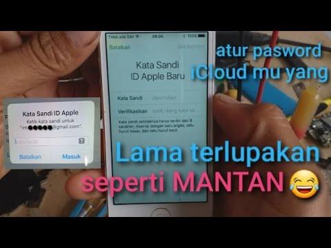 Cara Reset Password Apple id || iCLoud.