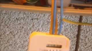 Comment installer, un micro-récepteur télécommandé pour éclairage www.alarmes-system-gard.com