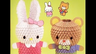 How To Make 3d Origami Rabbit? - Hướng Dẫn Xếp Con Thỏ Origami 3d