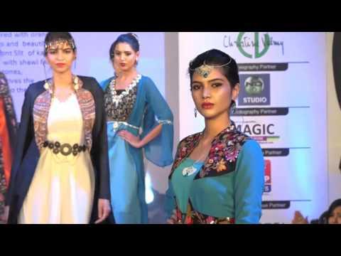 4. MOROCCAN Theme - INIFD Deccan Pune Annual Fashion Show 2016 - The Unbroken Bond
