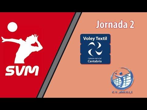 Voley Textil Santanderina vs CV Melilla