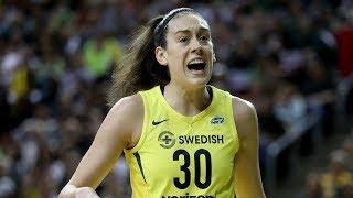 MVP Breanna Stewart Drops 22 PTS, 5 AST in Game 1 of WNBA Finals