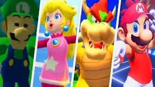 Evolution of Super Mario Sports Games (1995 - 2018)