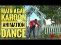 Main Agar Kahoon Om Shanti Om | Dance Cover | AKKI POPPIN