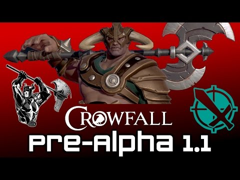 Crowfall Pre-Alpha 1.1 Thoughts - Sick Champion Plays! (Crowfall Champion Gameplay)