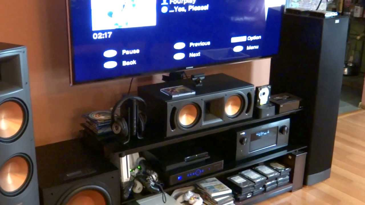 Denon Avr 4520ci Receiver With Klipsch Rf 82 Ii Reference