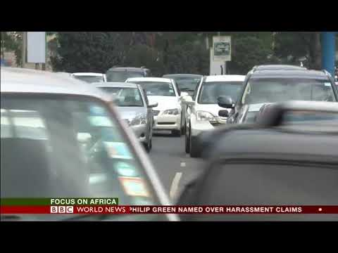 BBC News Electric Taxi in Kenya