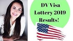 DV VISA LOTTERY 2019 RESULTS