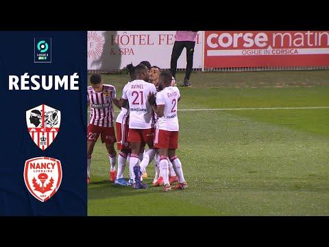 AC Ajaccio Nancy Goals And Highlights