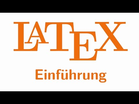 LaTeX-Einführung