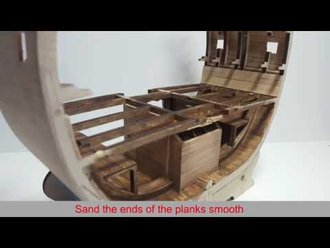 Official HMS Victory Cross-Section Build Diary, Stage 12