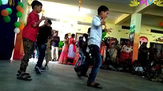 Yevadura ninnape devadura song dance performance  in Dr AKR's INSPIRE School (Children's Day)