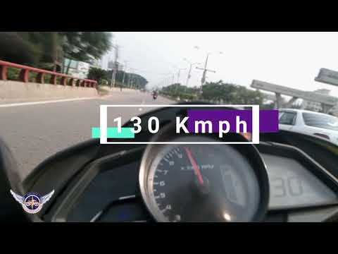 Pulsur NS 160 | 130 Kmph | Top Speed Record | Dhaka Street | ASR