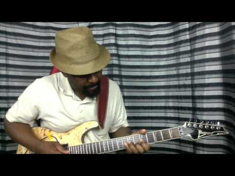 African Guitar 11 Afro Rhythm Guitar and old 80's tune afro picking