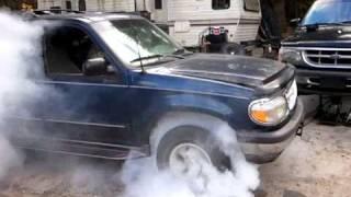 97 Explorer 4.0 AWD burnout