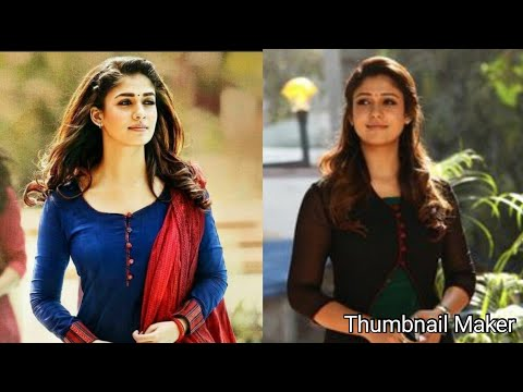 Nayanthara in Churidars: Beauti Queen Salwar images: South Indian Fashion Trends