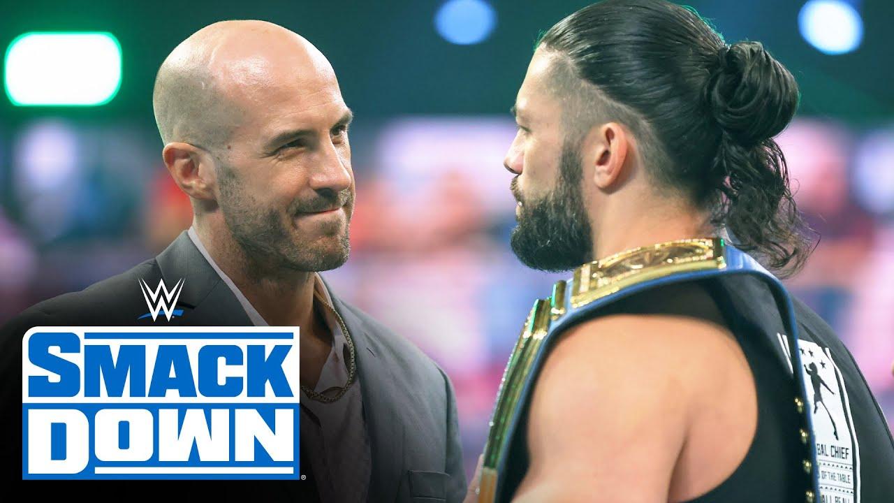 Download Roman Reigns disrespects Cesaro: SmackDown, April 16, 2021