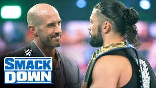 Roman Reigns disrespects Cesaro: SmackDown, April 16, 2021