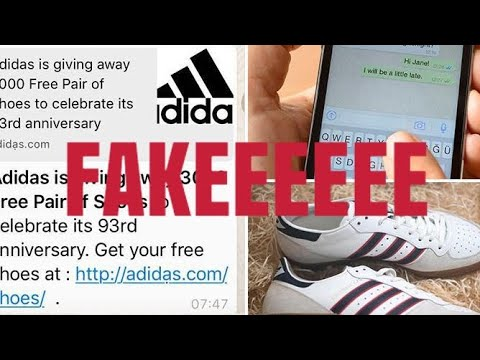 Adidas is giving away 3000 Free Pair of Shoes* to celebrate ...