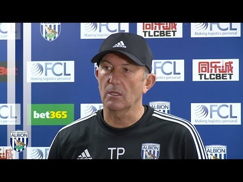 Tony Pulis previews Albion's Premier League trip to Crystal Palace