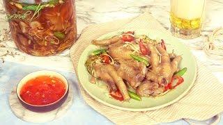 Bếp Cô Minh | Tập 105 - Hướng dẫn cách làm món CHÂN GÀ NGÂM SẢ TẮC ngon tuyệt