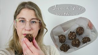 MEAL PREP WITH ME | MY BLISS BALL RECIPE