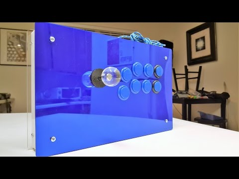 Building an Fightstick with Brook PS3/PS4 Breakout Board and Art's Hobbies Case