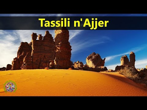 Best Tourist Attractions Places To Travel In Algeria | Tassili n'Ajjer Destination Spot