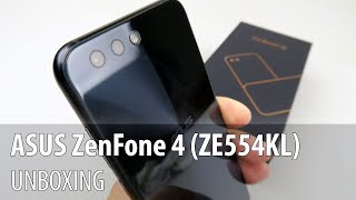 ASUS ZenFone 4 (ZE554KL) Unboxing (Dual Camera Midrange Phone)