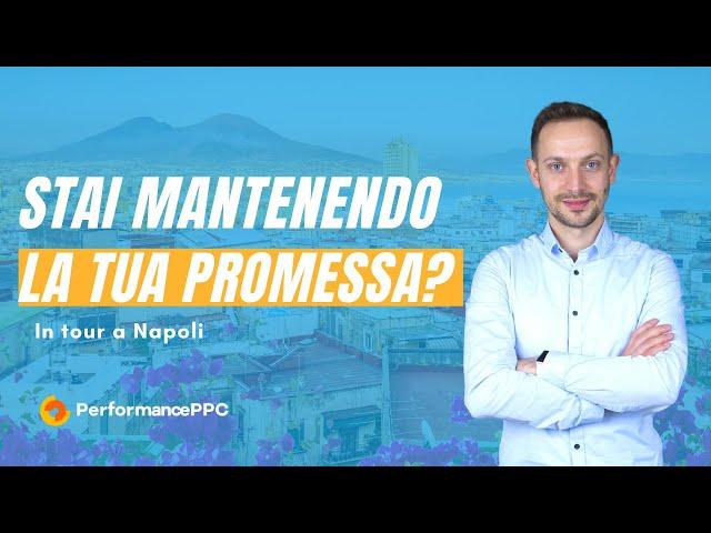 Stai mantenendo la tua promessa?