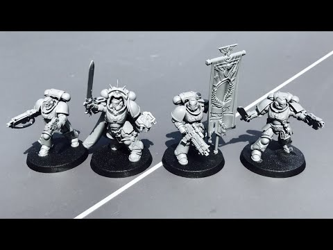 Primaris Space Marine Captain, Lieutenants, Ancient: Model,