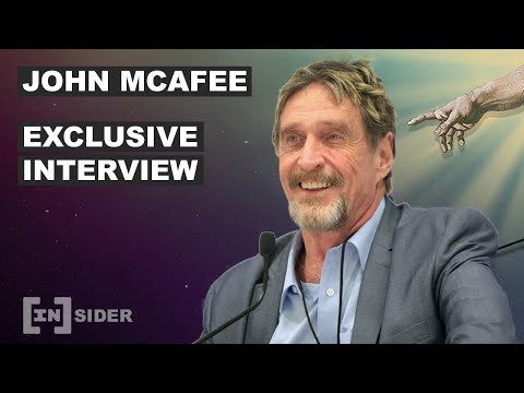 John McAfee Talks to BeInCrypto Live From His Secret Comms Bunker