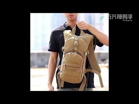 dac68f9522 Mochila Hidratação Tática Refil 3l Cinto Peito Camelbak G19 - YouTube