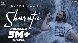 SHARATA - Babbu Maan | Official Music Video | Pagal Shayar | Latest Punjabi Songs 2019