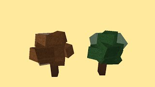 ROBLOX Simple Speedy Build - Trees [3]