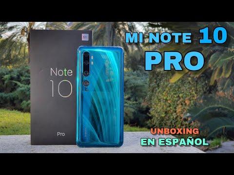 Xiaomi Mi Note 10 PRO Unboxing en español ¡La MEJOR CÁMARA del mundo EN MIS MANOS!