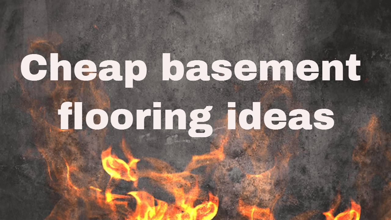 & Cheap basement flooring ideas - YouTube