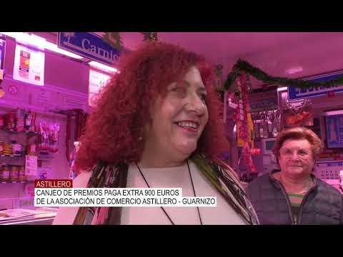 Canjeo de la paga extra de 900 euros de la Asociacion de comercio Astillero - Guarnizo