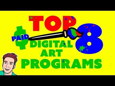 Best Drawing Software 2016 (Top 8 Digital Art Programs) 🖌